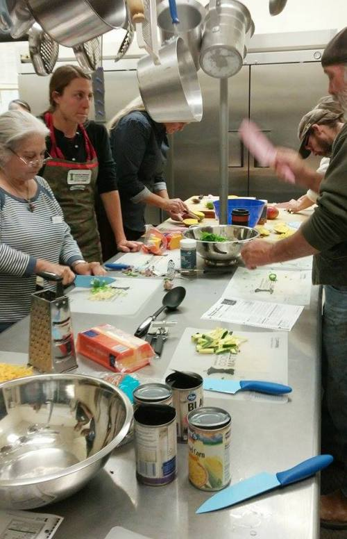"""Cooking Matters"" classes will run Thursday nights starting August 25 at BeBFit studio Photo: Lynn Nowiskee/Saguache Today."