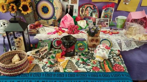Los Dias de Los Muertes holiday focuses on gatherings of family and friends to pray for and remember friends and family members who have died, and help support their spiritual journey. Photo: Lynn Nowiskee/Saguache Today.