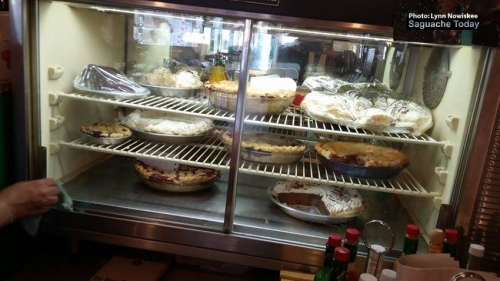 """There's something delicious to put in your """"pie hole"""" down at the 4th Street Diner & Bakery. Photo:  Lynn Nowiskee/Saguache Today."""