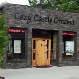 The Cozy Castle Cinema in downtown Saguache.