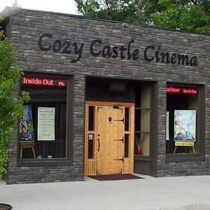 The Cozy Castle Cinema in downtown Saguache.