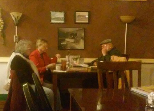 Saguache residents enjoy Soup Night, every Wednesday at the 4th Street Diner & Bakery