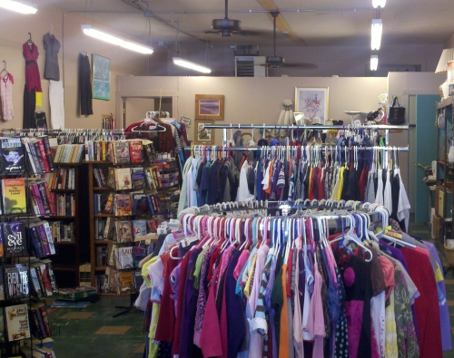 The winter clearance sale at he Blue Earth Thrift and Mercantile in downtown Saguache runs through the end of the month.