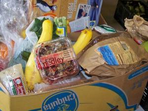 A $20 donation for a food box will get you 6x the groceries in a typical retail store. Photo: Canon City Daily Record