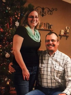 Saguache Deputy Steve Hansen pictured here with his wife Kristen, has been diagnosed with Colon Cancer. Photo: Hansen Family GoFundMe Page.