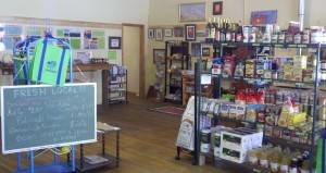 The 4th Street Food Store is open daily in downtown Saguache.