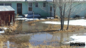 Saguache residents saw a drop in water pressure and a rise in chlorine levels due to a water main break on January 26. Photo: ‎Lynn Nowiskee‎ / Saguache Today