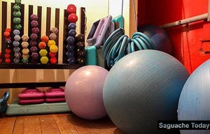 The BEFit Studio for exercise, dance and yoga in one of several Saguache Works programs.