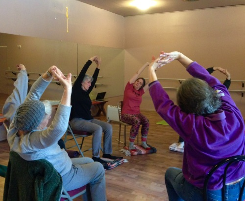 Take time to feel the body move with Gentle Yoga at the BeBop Studio in Saguache taught by Cynthia Nielsen of Radiant Flow.