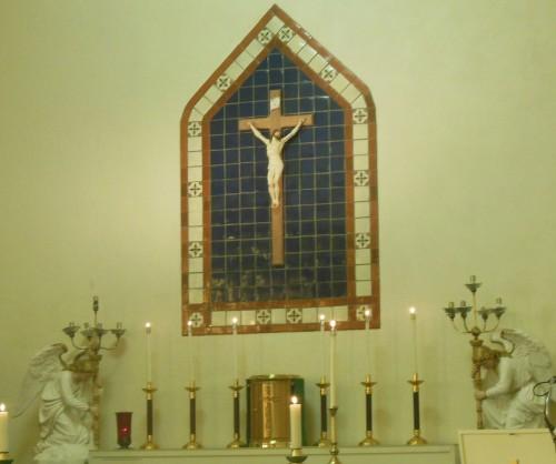 Easter_St Agnus Altar