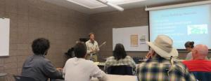 John Patterson's Hemp/lime Building Workshop will be held in Saguache on May 22