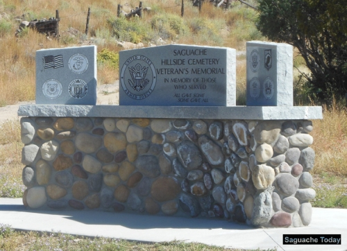 The American Legion Garcia Post 110 will conduct the traditional Memorial Day ceremonies starting at 10 a.m. on Memorial Day May 30. the Hillside Cemetery Veterans Memorial. Photo: Saguache Today