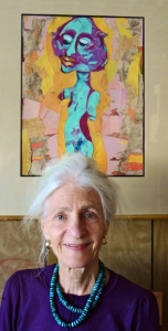 Saguache artist celebrated 75 years last week. Photo: June Savage.