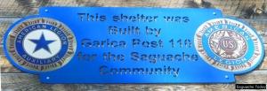Legion Park Sign Saguache Today