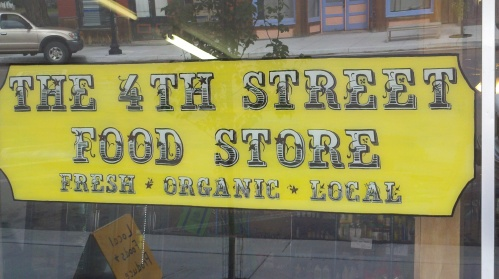 The 4th Street Food Store is located in downtown Saguache.