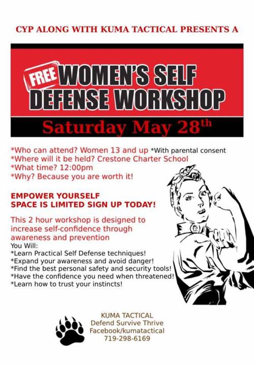 Self Defense Women Saguache