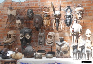 Collectors seek out the rare collection of African art at the Magpie Gallery in Saguache, Colorado. Photo: Saguache Today