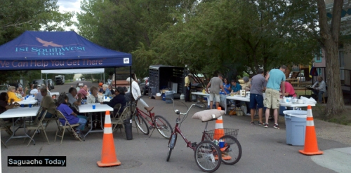 first southwest Bank BBQ_Saguache Today
