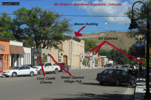 Mason Bulding Saguache Today Bedell Dowtown Graphic photo