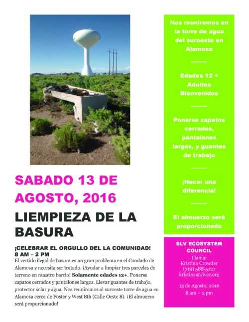 Water Tower Cleanup Poster in Spanish (1) copy