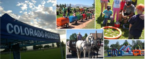 The San Luis Valley Potato Festival in Monte Vista is this Friday & Saturday, September 9 & 10.