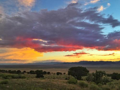 It's hard to beat the view from the Everson Ranch in the San Luis Valley, Colorado. Photo: Orient Land Trust Facebook Page