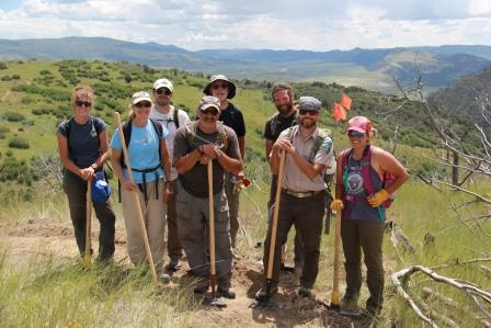 The Colorado Mountain Club wil be doing trail work at nearby Bonanza and is looking for volunteers.