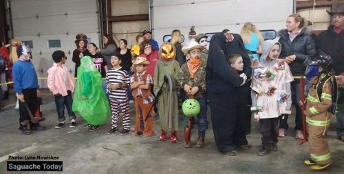The Annual Costume Parade ad Cpntest will be held Monday, October 31 at the Saguache Fire Department Fire House. Photo: Saguache Today Lynn Nowiskee