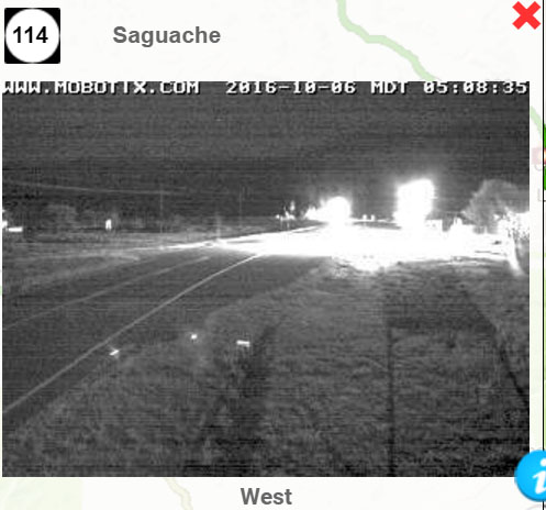The first snow of the season found its way into Saguache Today in the early morning hours. Thursday's forecast looks unsettled throughout the day, so plan accordingly and stay safe and warm!