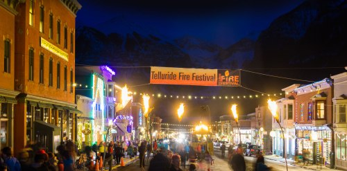 The Telluride Fire Festival has created an amazing two-day fire art program for local and regional high school students.