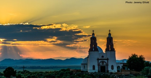 Grand Prize in the San Luis Valley Tourism Association 2016 Photo Contest went to Jeremy Elliot with this stunning picture of Church in San Luis, Colo.