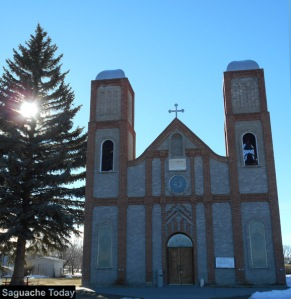 Conejos County boasts the oldest church in Colorado with the Our Lady of Guadalupe Catholic Church in Antonito. Photo: Saguache Today/Kathy Bedell