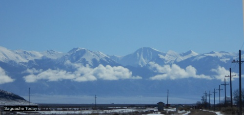 Saguache Mountains Couds