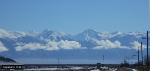 Saguache Mountains Couds