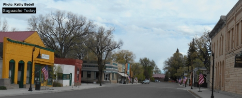 Downtown Flags_Saguache Today