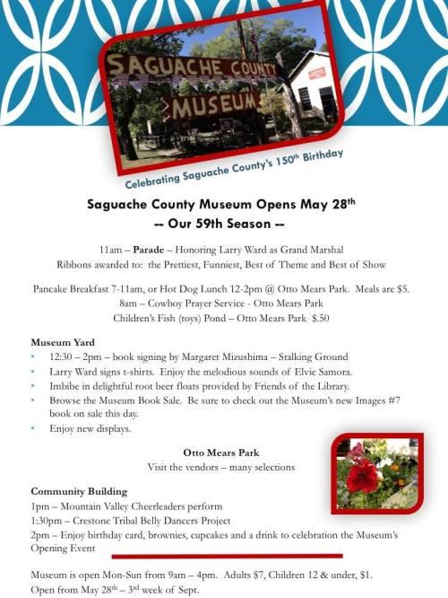 Sag Museum Schedule