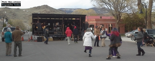 Saguache Today_Wolf At The Door band_Mary Johnson_5