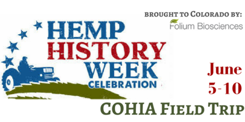 Hemp History Week Flyer