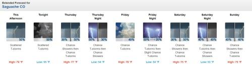 Saguache Forecast