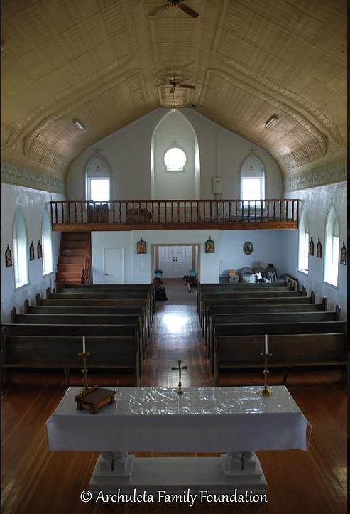 New Pews_Installed St John Saguache