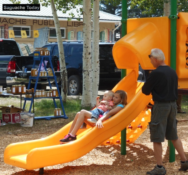 Kids_Slide_Otto Mears Park_Saguache Today
