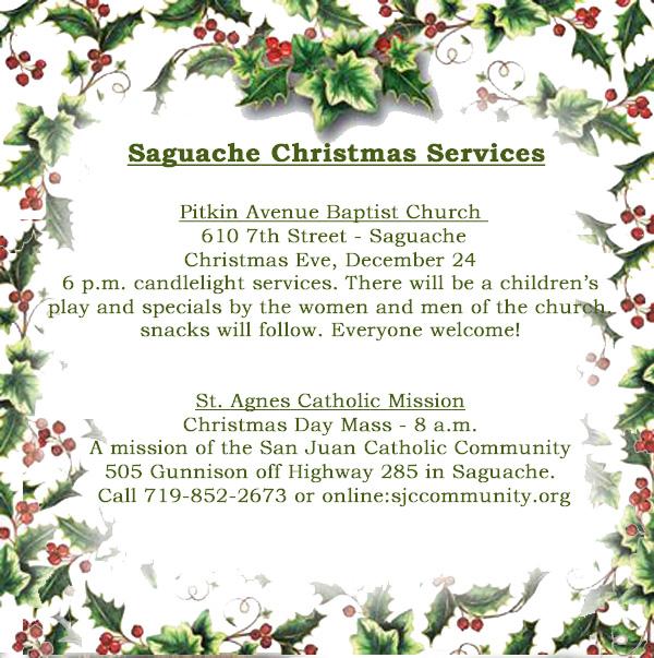 Saguache Church Christmas 2017