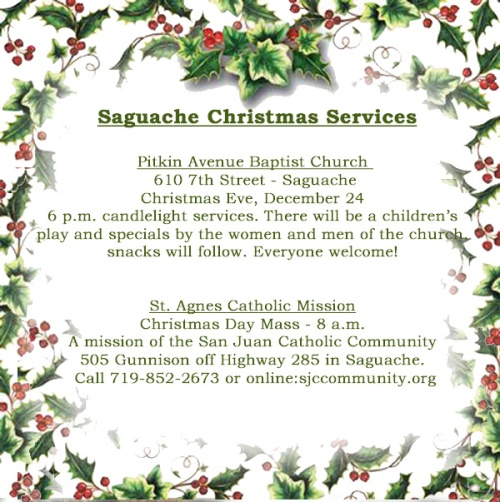 Saguache Church Christmas 2017