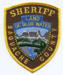 Saguache Sheriff Badge