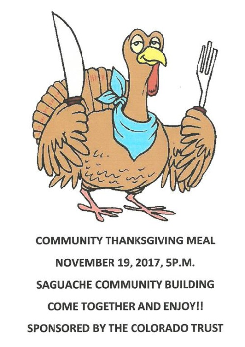 thanksgiving saguache