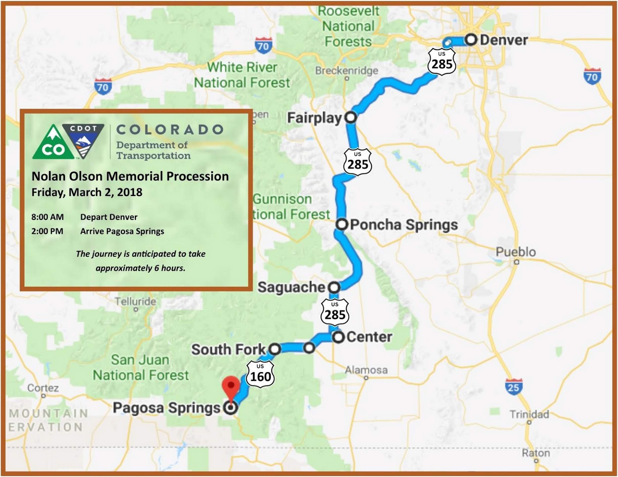 Nolan Olson route