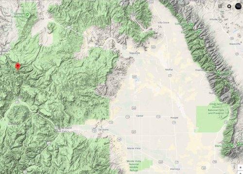 San Luis Peak map1
