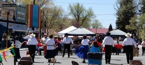 Saguache dancers Cinco de Mayo