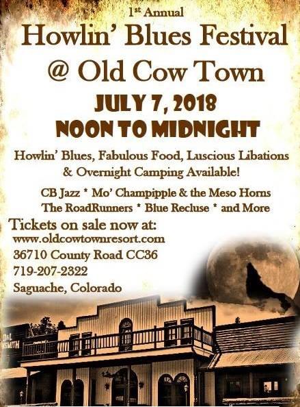 Cow Town Howlin Blues Festival