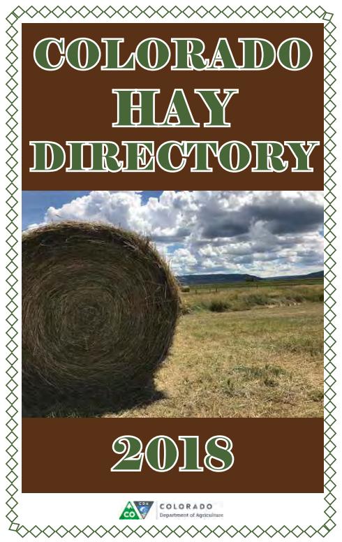 Colorado Hay Directory